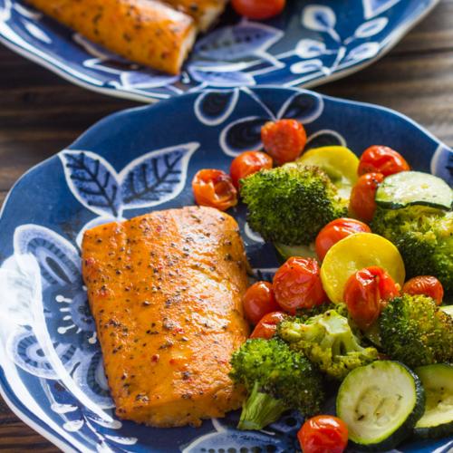 Salmon Summer Recipe
